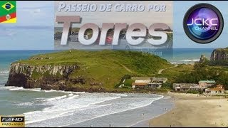 Torres RS/Brasil - Passeio de Carro (GoPro Hero2) - Camera onboard Music by JCKC and Kevin MacLeod