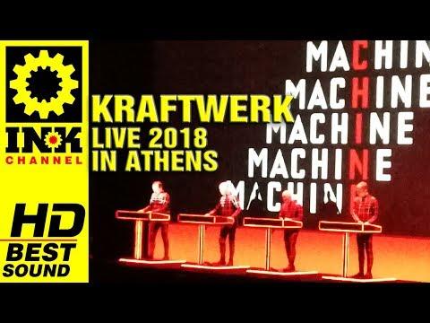 KRAFTWERK - Sample of the Show in Athens Greece [3/3/2018]