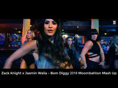 Zack Knight x Jasmin Walia - Bom Diggy (Moombahton Mash up)
