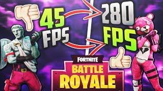 FORTNITE FPS BOOST TUTORIAL | +60 FPS ON ANY PC | SEASON 6