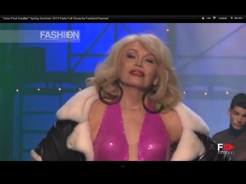 """Jean Paul Gaultier"" Spring Summer 2013 Paris Full Show by FashionChannel"