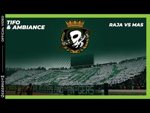 GREEN BOYS 05 - Raja.C.A vs Mas : TIFO & Ambiance