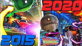 ROCKET LEAGUE EVOLUTION 2015 - 2020