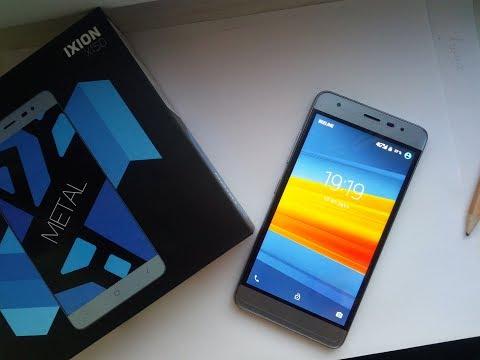 Смартфон DEXP Ixion X150 16 ГБ серый