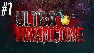 Minecraft: ULTRA HARDCORD SURVIVAL Ep1 - New Beginnings
