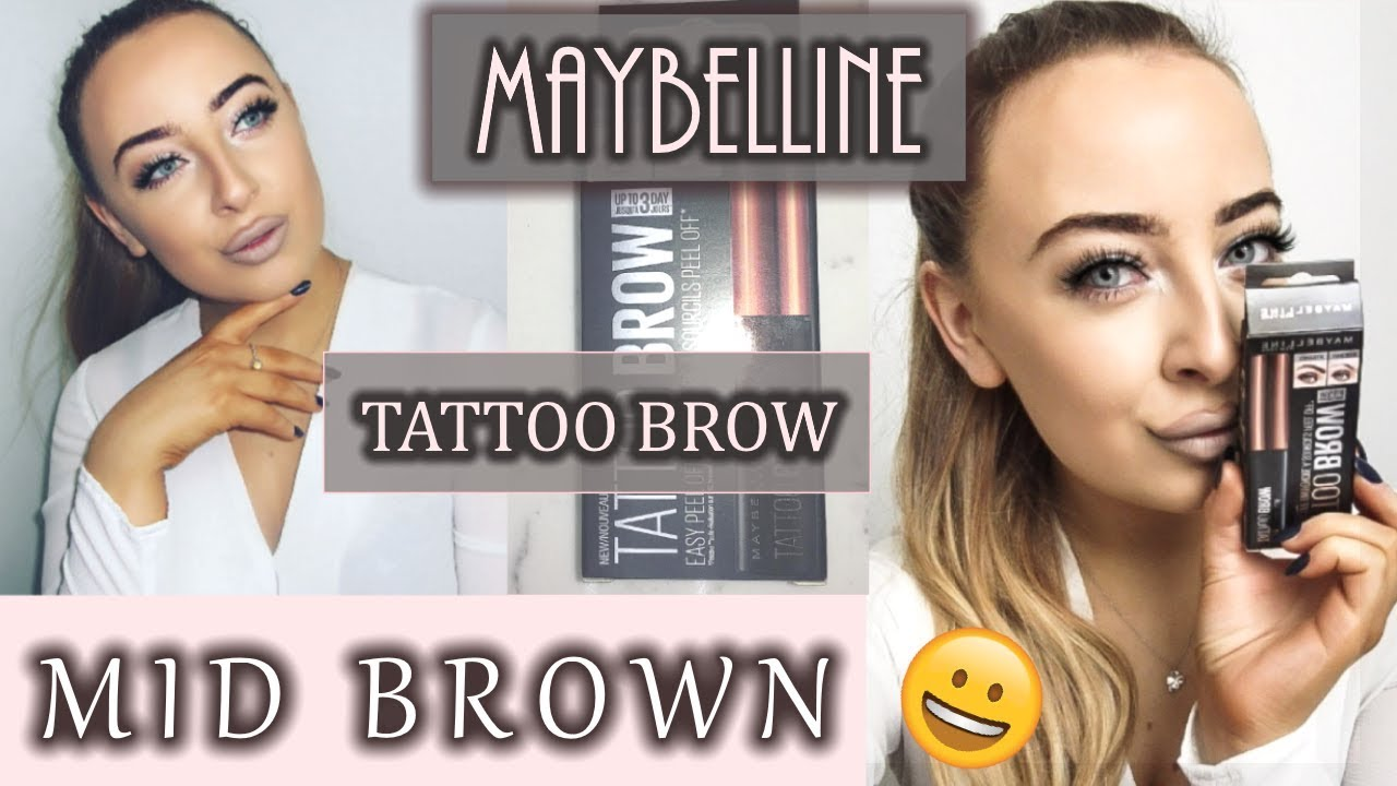 Full Demo And Honest Review Maybelline Tattoo Eyebrow Tint