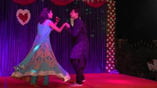 Sangeet Dance Performance Hitu and Priya Salsa