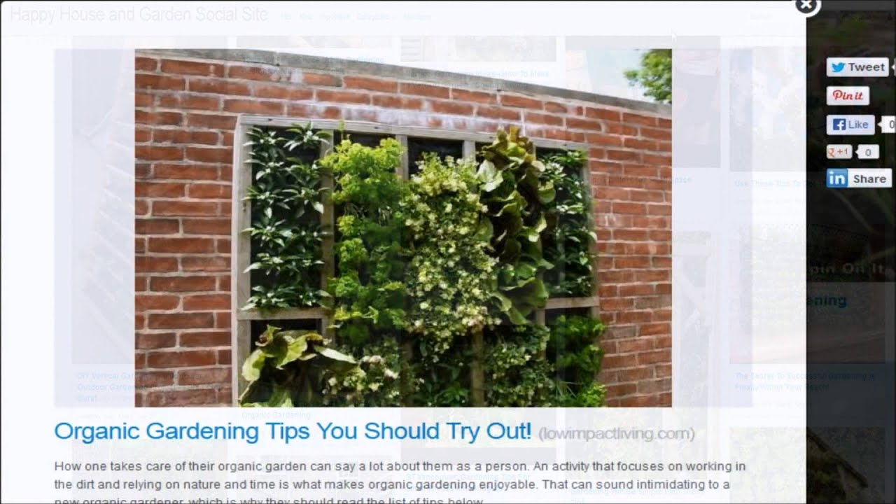 Urban wall gardening - Recycle Urban Vertical Gardening For Small Spaces