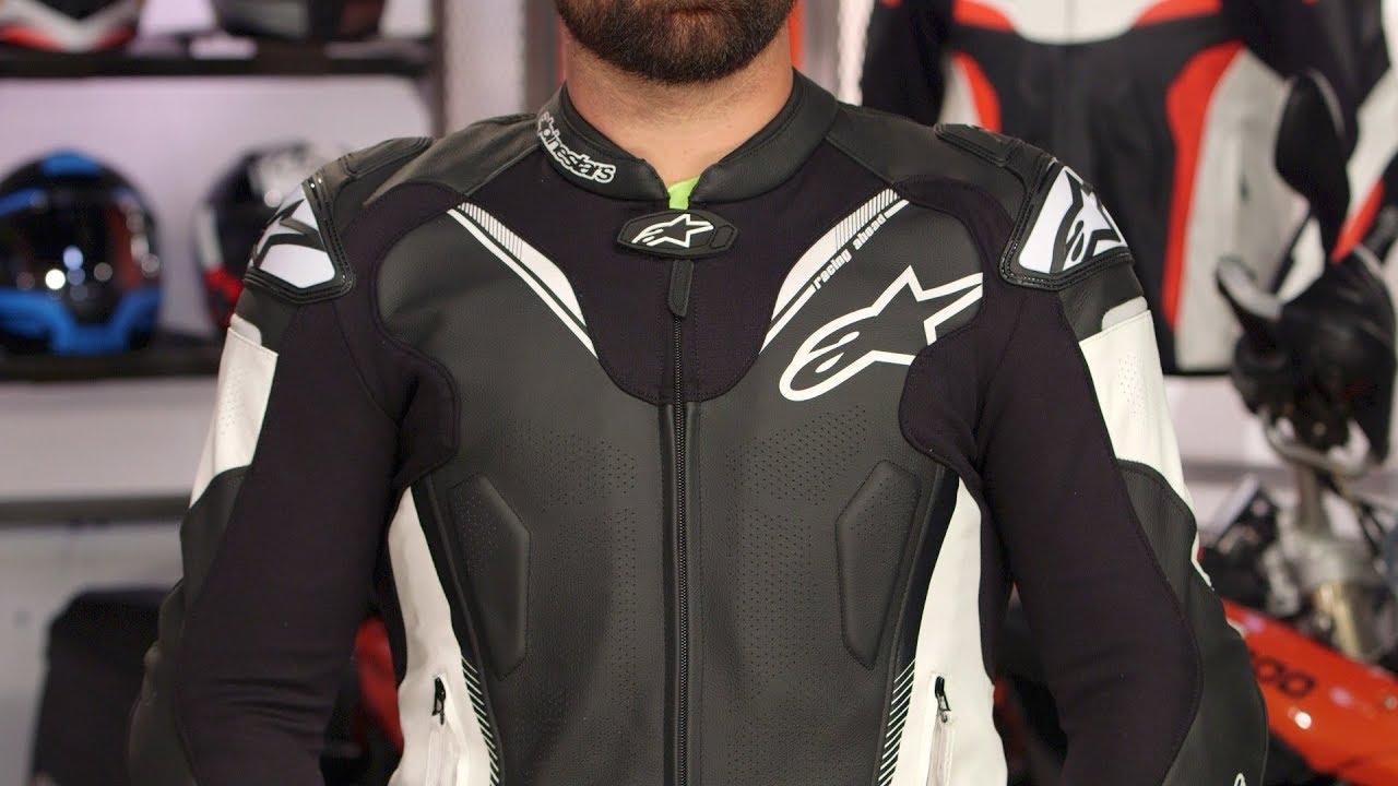 Alpinestars Jacket Leather >> Alpinestars ATEM v3 Leather Jacket Review at RevZilla.com - YouTube