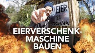 Eierverschenkmaschine bauen - Heimwerkerking Fynn Kliemann