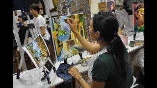 Уроки живописи маслом для начинающих спб. Школа живописи