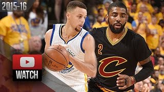 Kyrie Irving vs Stephen Curry Game 5 Duel Highlights 2016 Finals Warriors vs Cavaliers - EPIC!