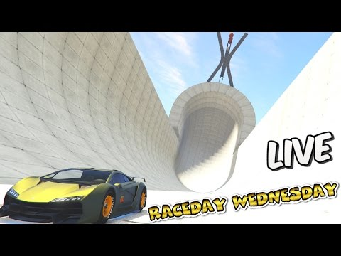 LIVE - RACEDAY WEDNESDAY #118 - Full Lobby Racing w/ GCCC Crew - GTA 5 NEW CUSTOM RACES