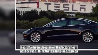 Elon Musk says Model 3 production struggles are 'stressful' and 'painful'