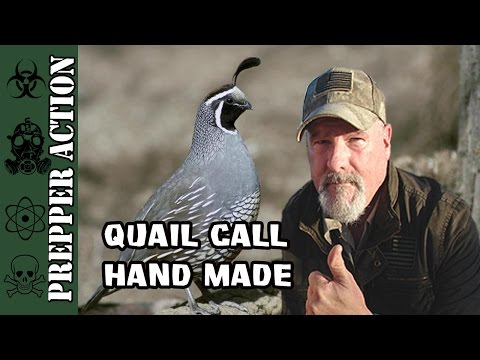Quail call (hand made)