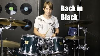 Video Learn Drums to Back in Black by AC/DC download MP3, 3GP, MP4, WEBM, AVI, FLV November 2018