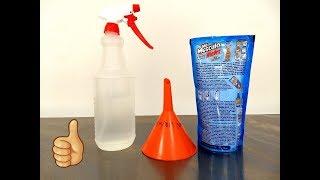 Como hacer su propio liquido limpia parabrisas