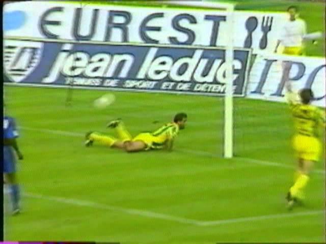 Résumé FC Nantes - SM Caen 1994-95