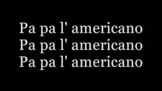 We no speak americano (lyrics)