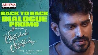 Sriramudinta Srikrishnudanta | Back to Back Dialogue Promo | Shekar Varma, Deepthi Setty
