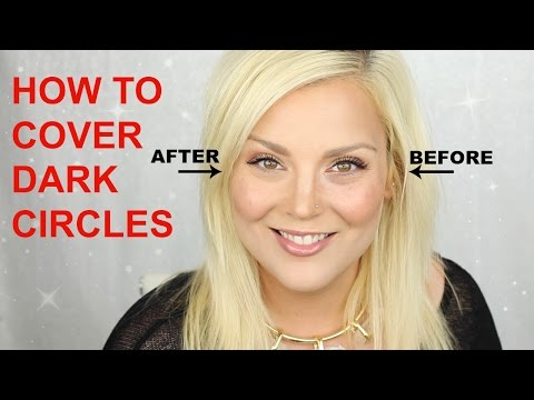 Beginner Makeup Lessons, How To Cover Dark Circles!