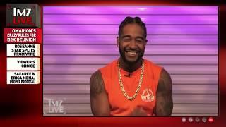 Omarion - TMZ Interview 2018 - B2K Millennium Tour 2019
