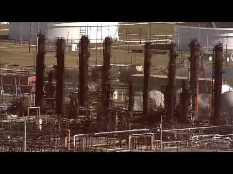 WATCH | New Aerial Footage Of TPC Plant, 6 Days After Initial Explosion