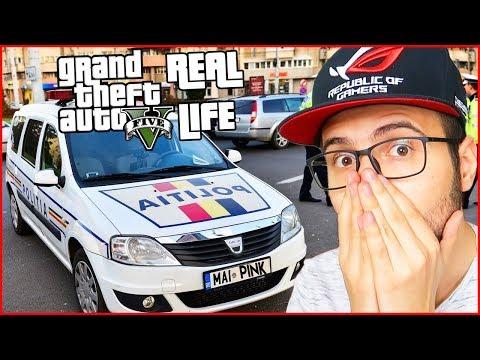 FURAM masina de politie pe GTA Real Life!
