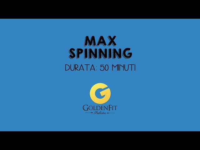 Spinning Con Max, Lezione 1