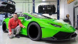 PUTTING ON THE NEW LAMBORGHINI WHEELS *I'm Speechless* thumbnail