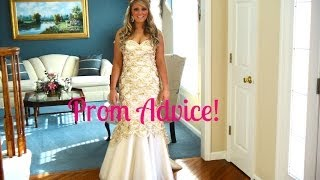 Prom Advice: What I Wish I Knew Before Prom