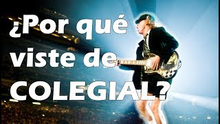 DATO CURIOSO: AC/DC Angus Young