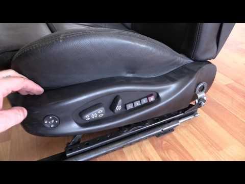 Kак снять Блок управления сиденья Бэха БМВ Е46 BMW 325 E46 свичь свитч