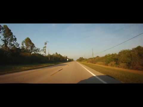 Driving on Corkscrew Road from Estero, FL to Collier County
