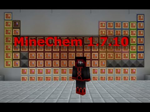 minechem chemical synthesis machine