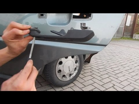 Vw Golf 2 Turgriff Wechseln Ausbauen Tutorial Youtube