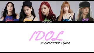 How would BLACKPINK + YOU sing IDOL by BTS