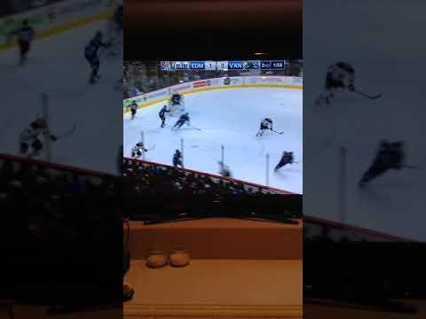 Oilers vs Canucks Troy stretcher vs Ryan strome
