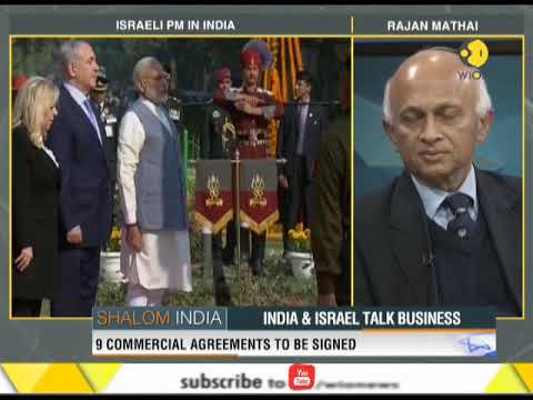 India and Israel talk business