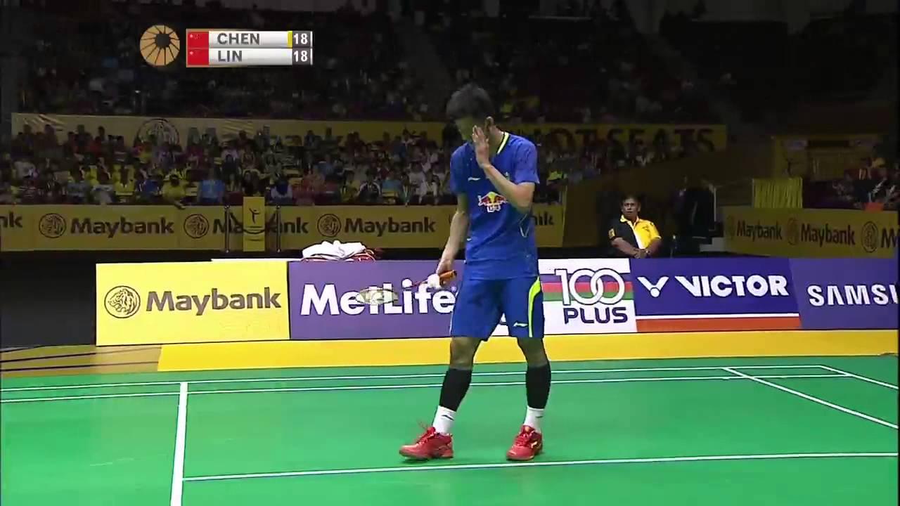 Chen Long vs Lin Dan
