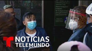 Aumentos de contagios de COVID-19 en México no cede | Noticias Telemundo