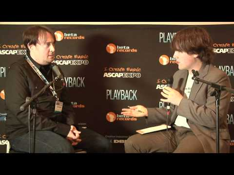 "Breaking Bad Composer Dave Porter - 2012 ASCAP ""I Create Music"" EXPO Interview"