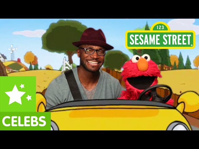Sesame Street\: Elmo and Taye Diggs Go for a Drive