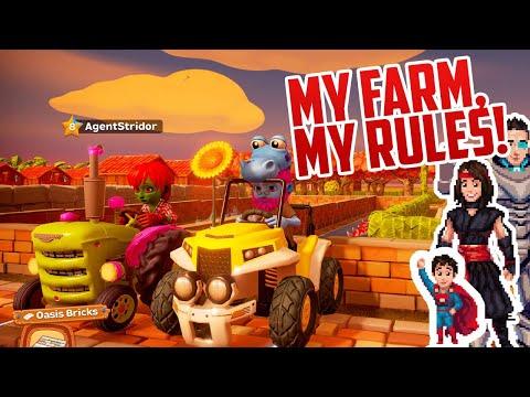 SHE PUT PIGS ON MY FARM!!! | Farm Together! |