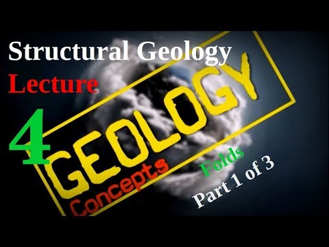 Structural geology - 4 | Folds - Basics Part 1 of 3 | Geology Concepts