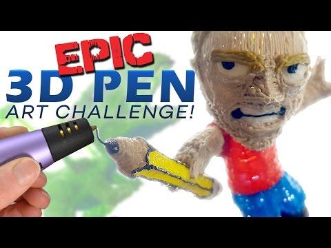 epic-3d-pen-art-challenge!