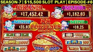 88 Fortunes 3 Reel Slot Machine Live Play | Lady Silk New Slot Macine | SEASON-7 | EPISODE #6