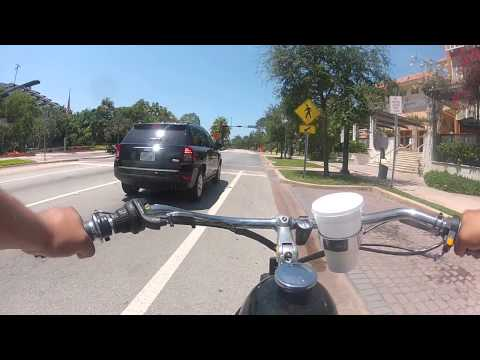 Motor bike Miami Key Biscayne Ride