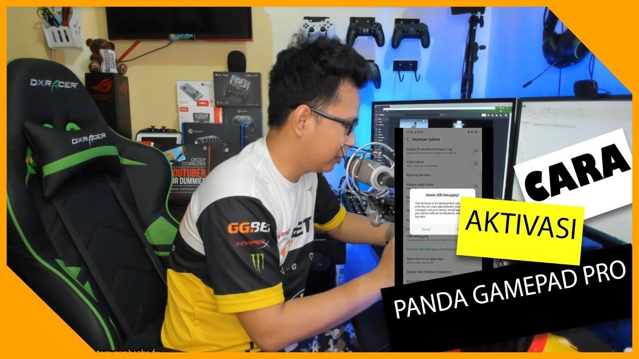 cara aktivasi panda gamepad pro No ROOT