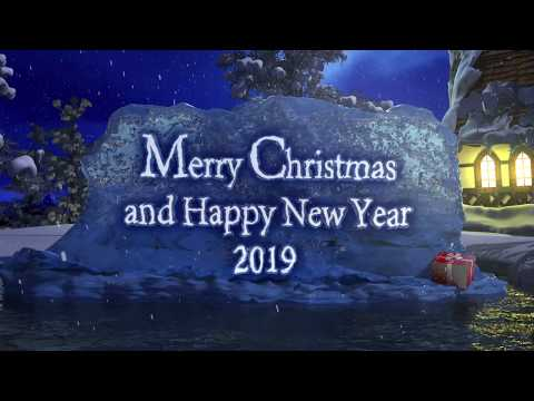 Merry Christmas and Happy New Year 2019 - New Year's Greeting Mp3